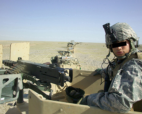 an image showing a solider, not the one that initiated the compensation claim
